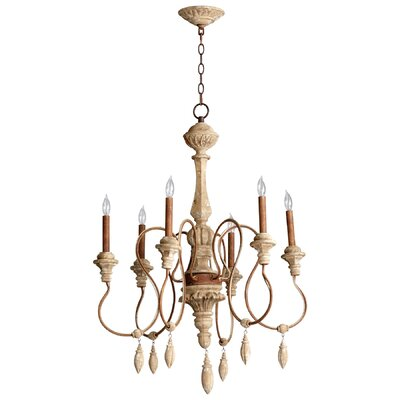Alda 6-Light Candle-Style Chandelier
