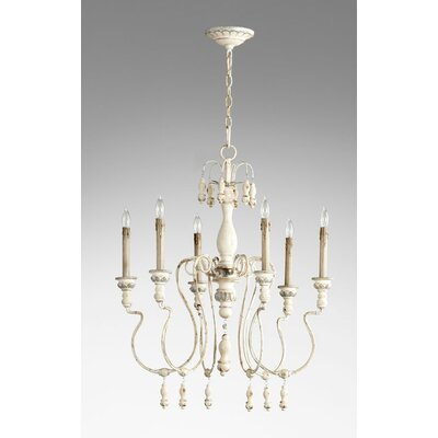 Chantal 6-Light Candle-Style Chandelier