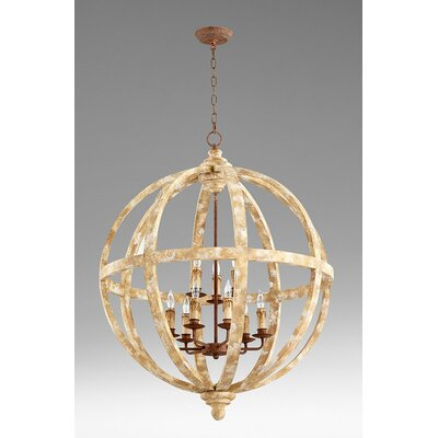 Landon 9-Light Globe Pendant
