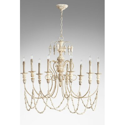 Florine 9-Light Candle-Style Chandelier