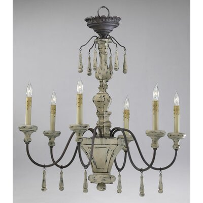 Provence 6-Light Candle-Style Chandelier