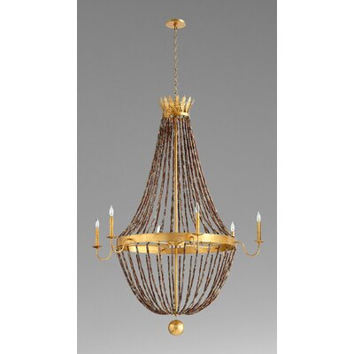 Alessia 6-Light Empire Chandelier