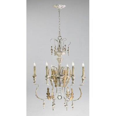 Motivo 6-Light Candle-Style Chandelier