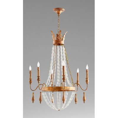 Alexandra 6-Light Candle-Style Chandelier