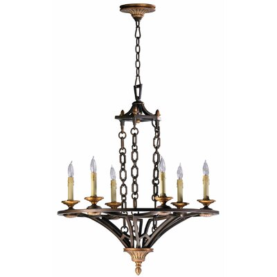San Giorgio 6-Light Candle-Style Chandelier