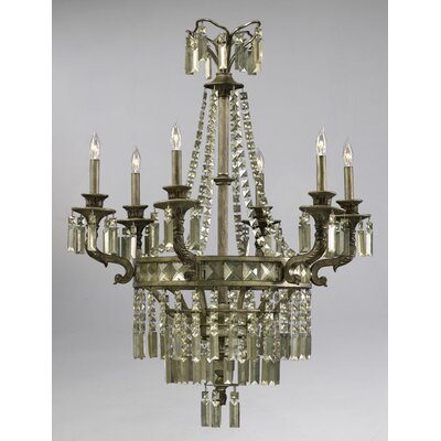 Buckingham 6-Light Crystal Chandelier