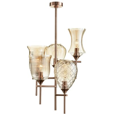 Darcey 5-Light Shaded Chandelier