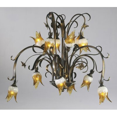 Papillion 12-Light Candle-Style Chandelier