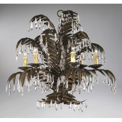 Largo 6-Light Crystal Chandelier