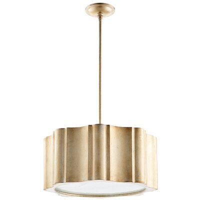 6-Light Drum Pendant Finish: Silver