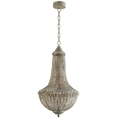 Havilland Pendant Glass Link Extension Shade Color: Clear Blue