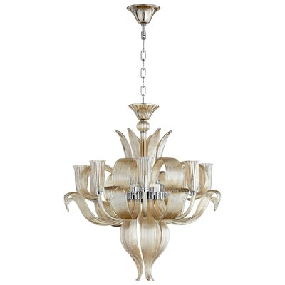 Juliana 8-Light Shaded Chandelier
