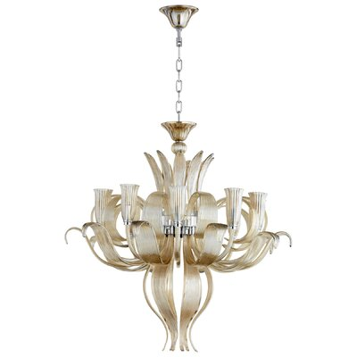 Juliana 10-Light Candle-Style Chandelier