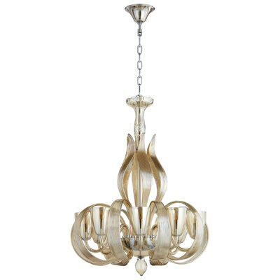 Lucille 8-Light Shaded Chandelier