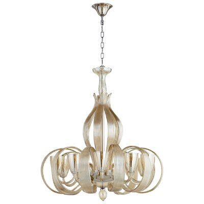 Lucille 10-Light Candle-Style Chandelier