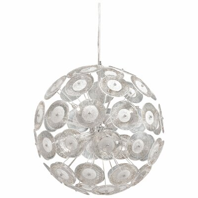 Small Dandelion 6-Light Globe Pendant
