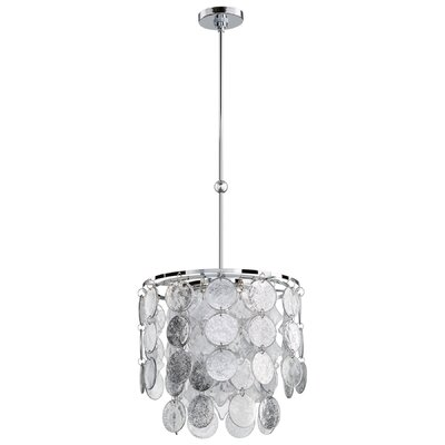 Carina 3-Light Crystal Chandelier