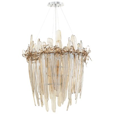 Thetis 9-Light Waterfall Chandelier