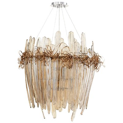 Thetis 12-Light Waterfall Chandelier