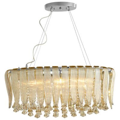Olivia 6-Light Crystal Chandelier