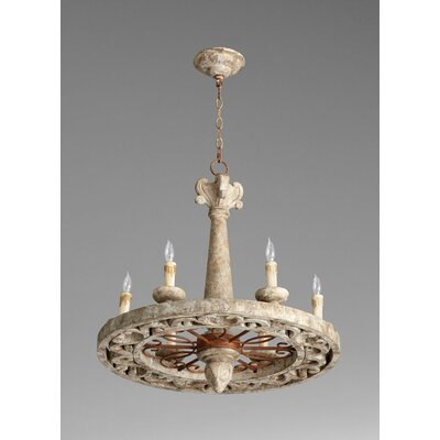 Malouet 6-Light Candle-Style Chandelier