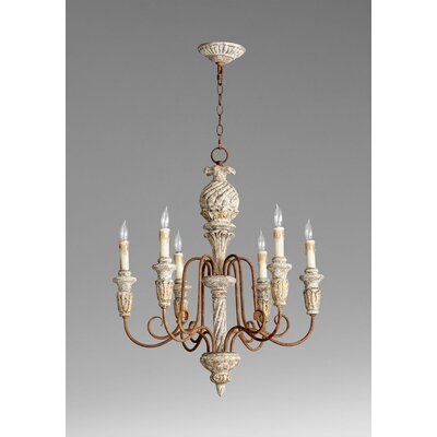 Bateau 6-Light Candle-Style Chandelier