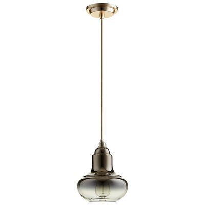 Camille 1-Light Mini Pendant Finish: Light Gold Ombre