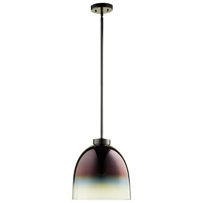 1-Light Inverted Pendant Finish: Gunmetal