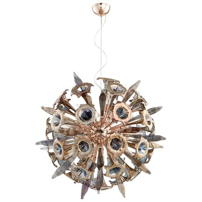Remy 16-Light Globe Pendant