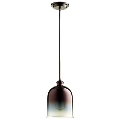 Celia 1-Light Mini Pendant Finish: Gunmetal