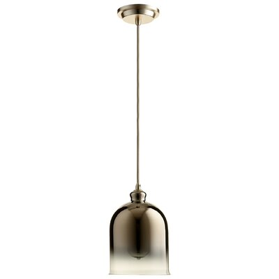 Celia 1-Light Mini Pendant Finish: Gold