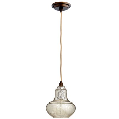 Camille 1-Light Mini Pendant Finish: Oiled Bronze