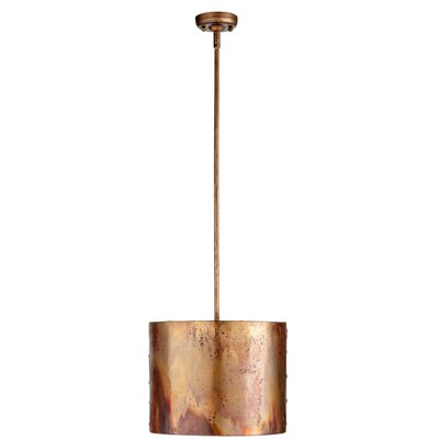 Mauviel 1-Light Drum Pendant