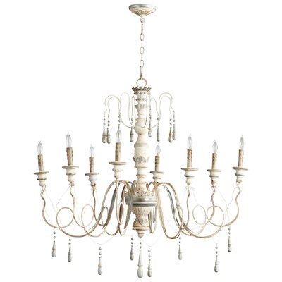 Chantal 8-Light Candle-Style Chandelier