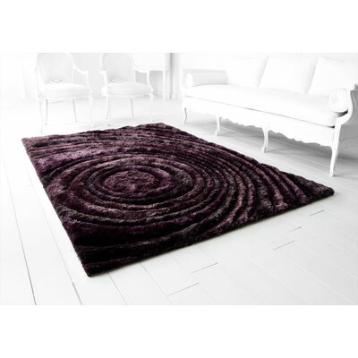 Girare Arte Hand-Tufted Purple Area Rug