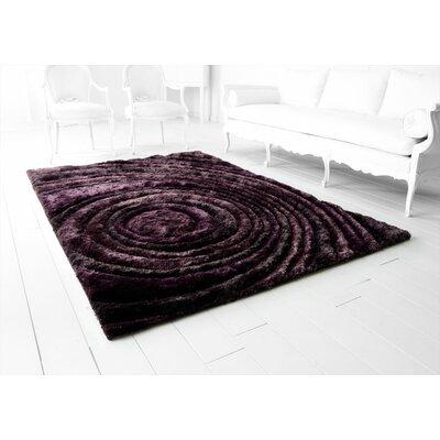Girare Arte Hand-Tufted Purple Area Rug