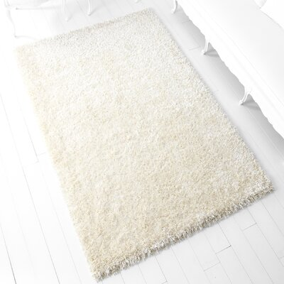 Keswick Hand-Tufted Light Beige Area Rug Rug Size: 5 x 77