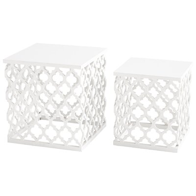 Cosmopolitan 2 Piece End Table Set