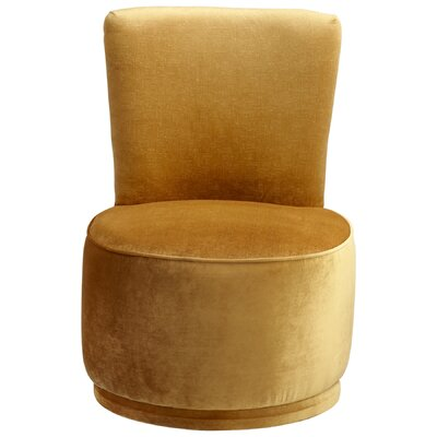 Apostrophe Side Chair Color: Yellow