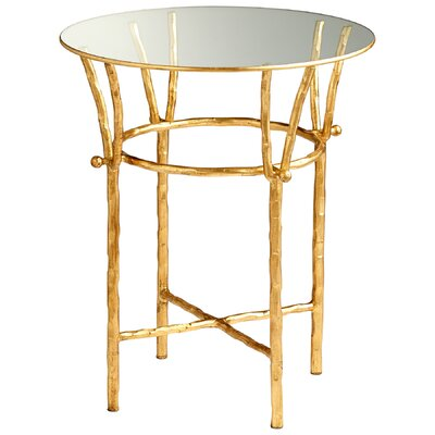 Argent End Table