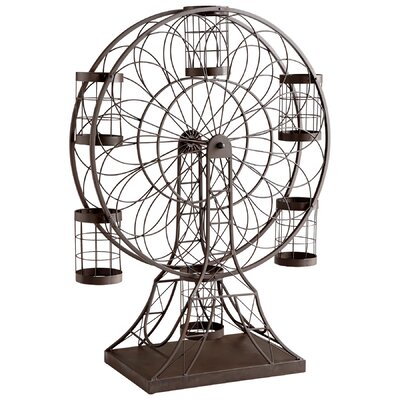 Ferris Wheel 6 Bottle Tabletop Wine Rack