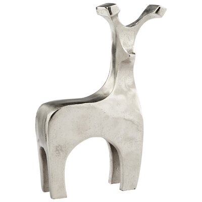 "Dearly Loved Deer Sculpture Size: 11.75"" H x 6.75"" W x 2.25"" D 8121"