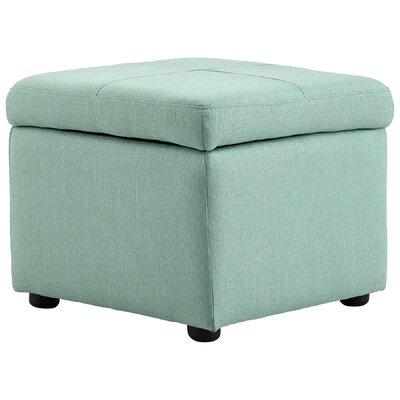 Huffington Ottoman Upholstery: Green
