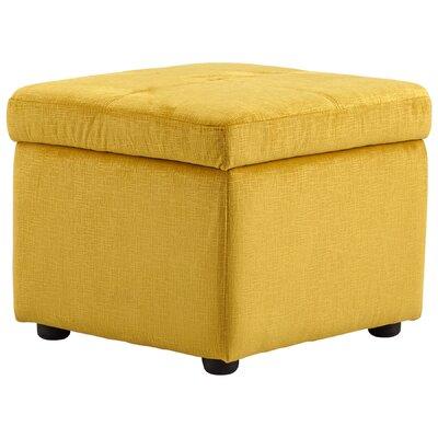 Huffington Ottoman Upholstery: Yellow