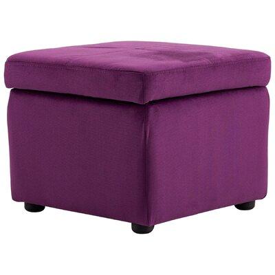 Huffington Ottoman Upholstery: Purple