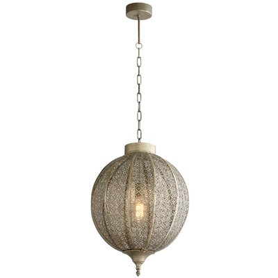 Todra 1-Light Globe Pendant