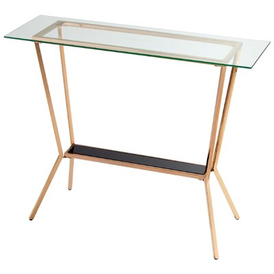 Arabella Console Table Finish: Rose Gold