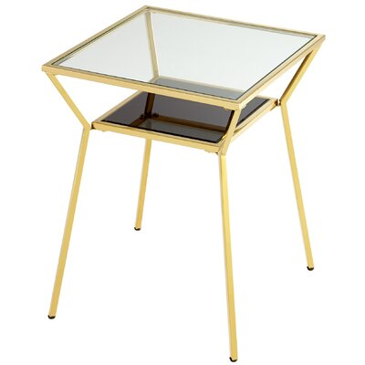 Arabella End Table Color: Brass
