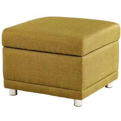 Maro Ottoman Upholstery Color: Green