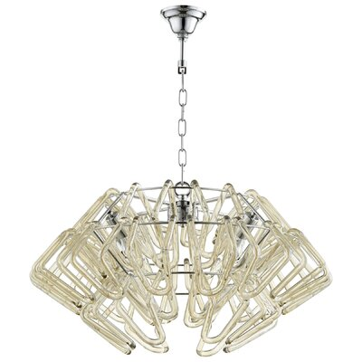 Roswell 4-Light Shaded Chandelier